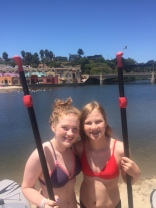 SUP in Capitola