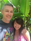 Us! Loving the Big Island!